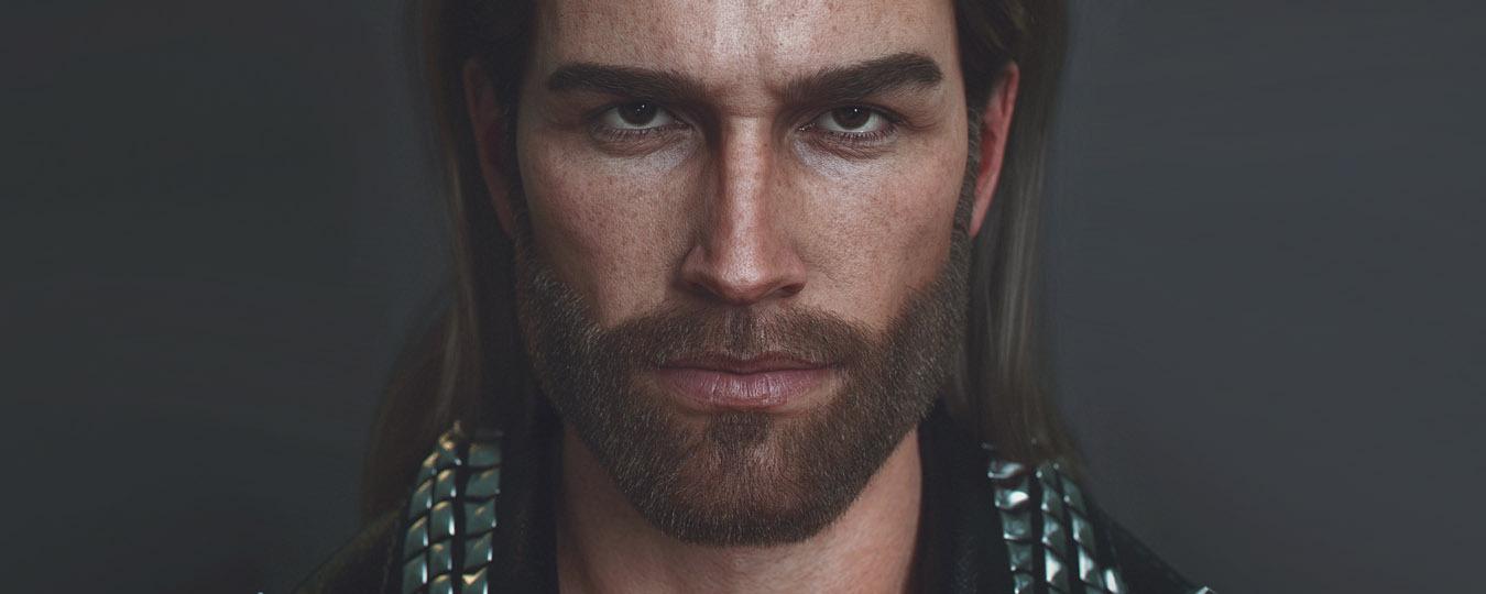 3D Male Character Model